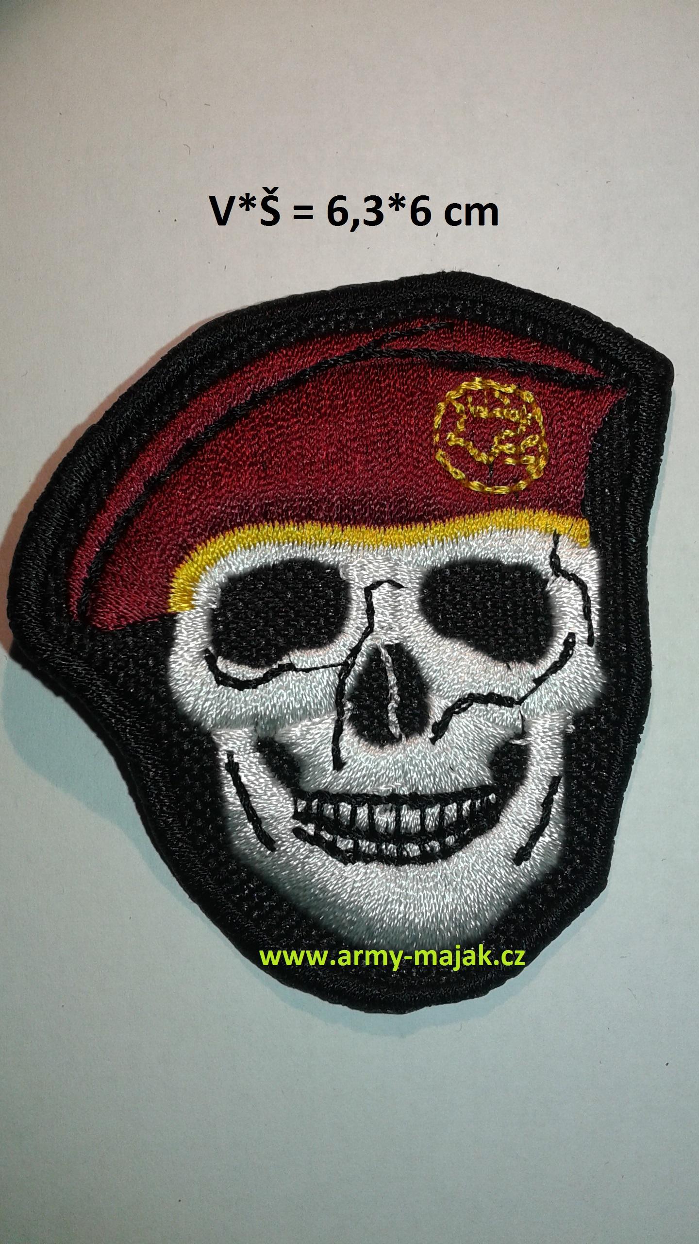 4b4ee9f5299 Lebka - červený baret